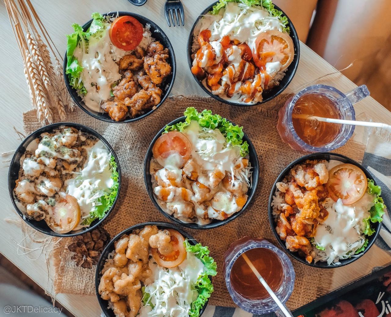 aneka rice bowl
